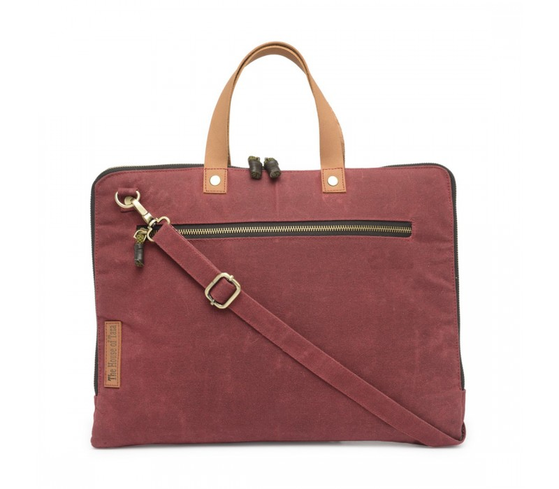 Slim Laptop Bag (Tibetan Red) HTLB 061