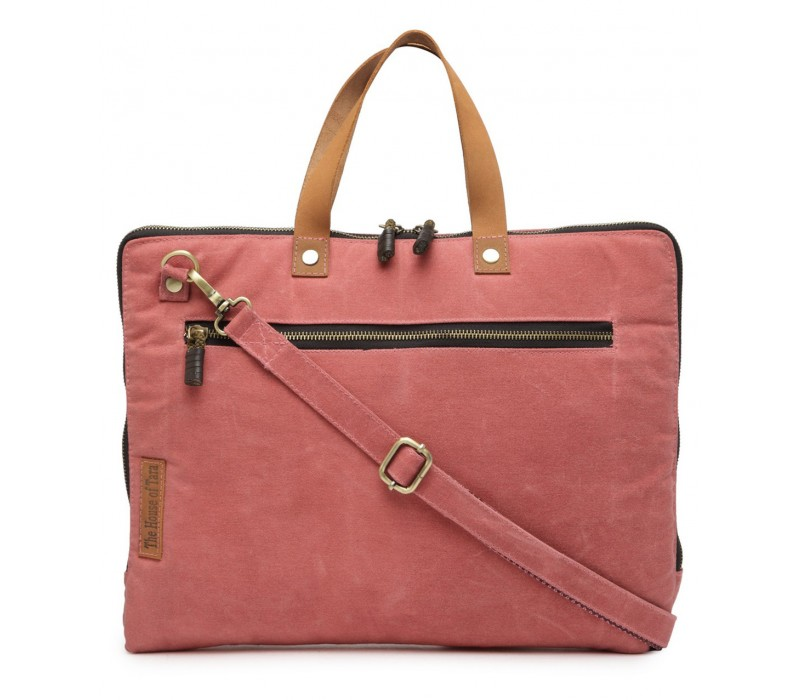 Slim Laptop Bag (Coral Pink) HTLB 062