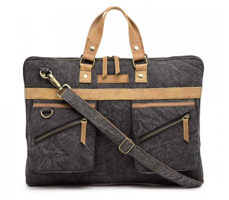 Slim Laptop Bag (Phantom Black)