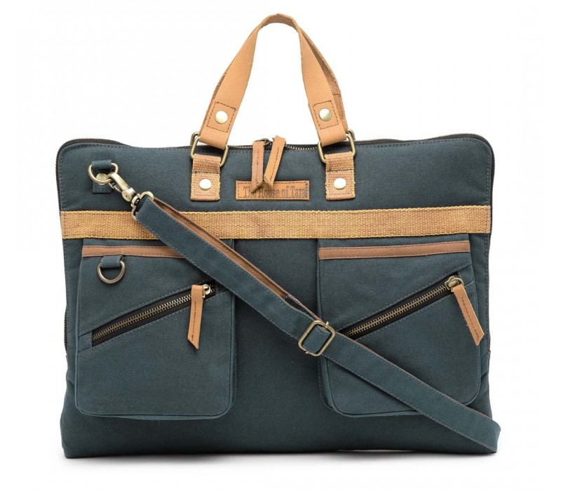 Slim Laptop Bag (Combat Blue)