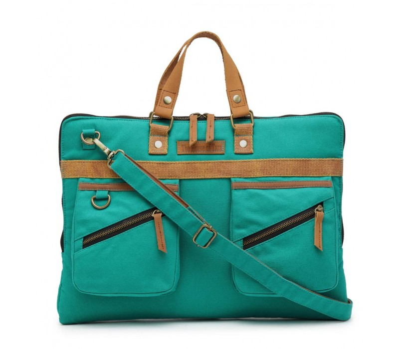 Slim Laptop Bag (Teal)