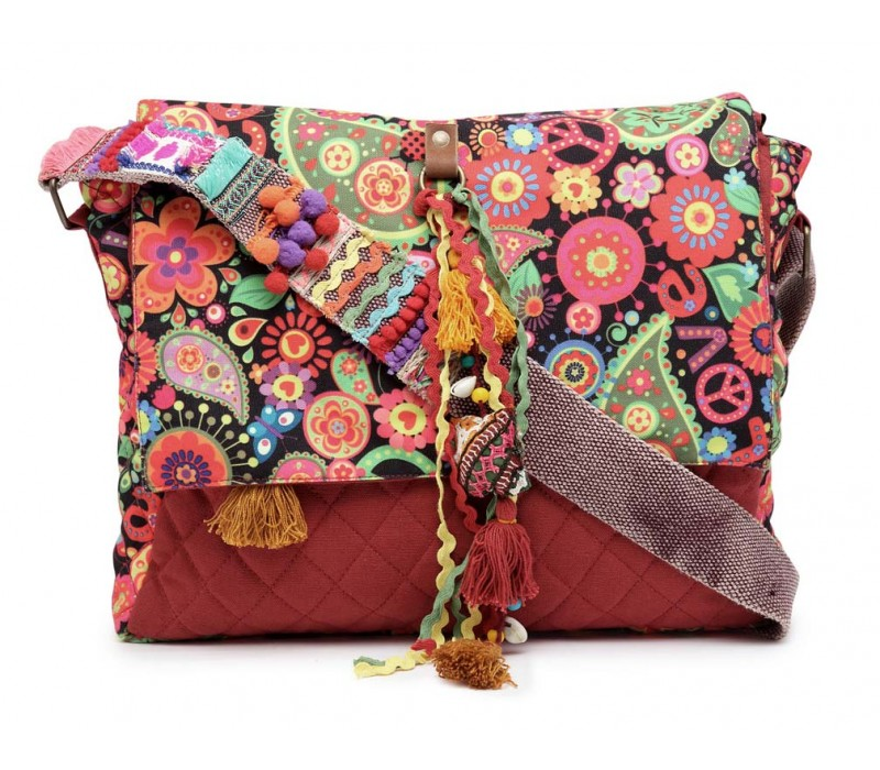 Colourful Messenger Bag (HTMB 081)