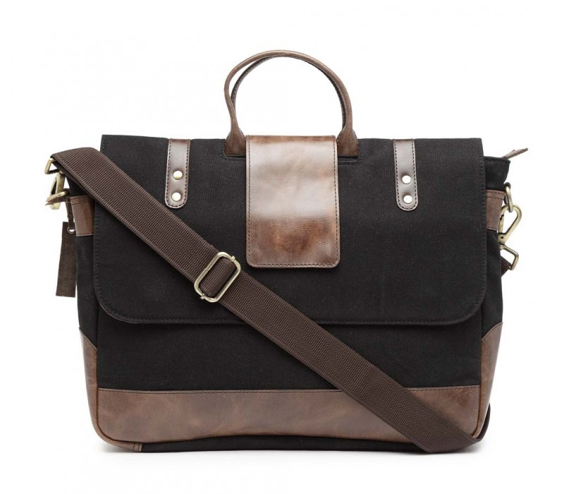 Leather Messenger/ Office Laptop Bag (HTMB 084)