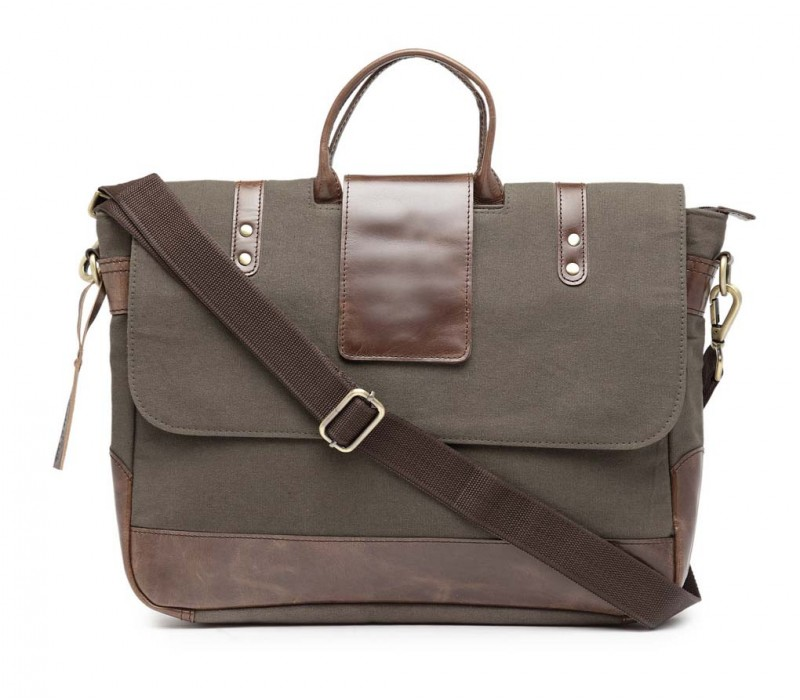 Leather Messenger/ Office Laptop Bag (HTMB 086)