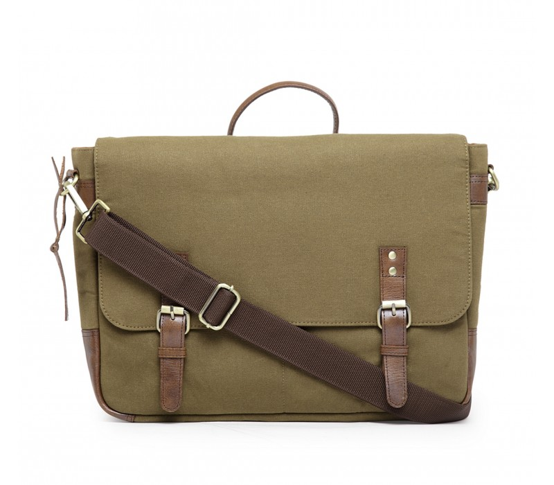 Unisex Messenger/ Office Bag - Khaki