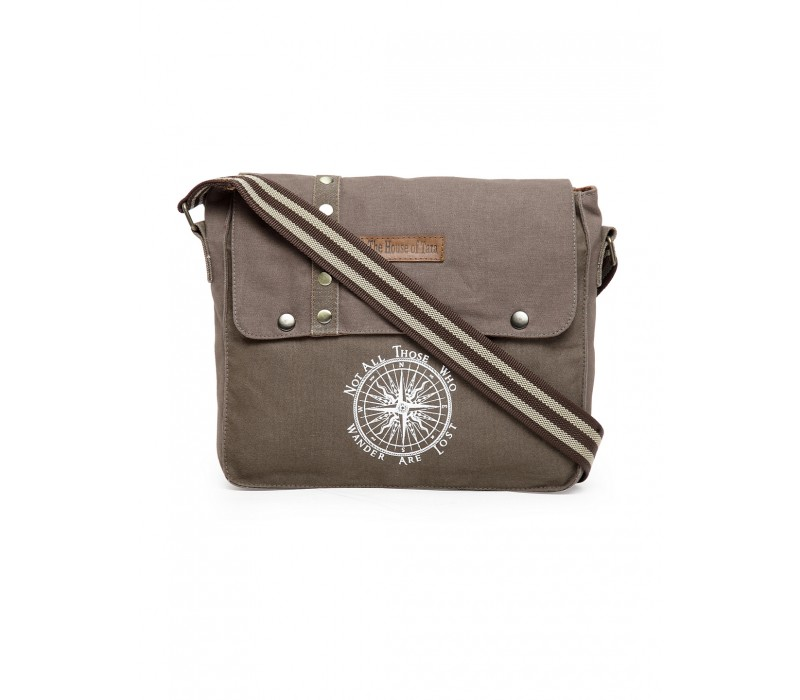Unisex Messenger Bag (Taupe Grey)