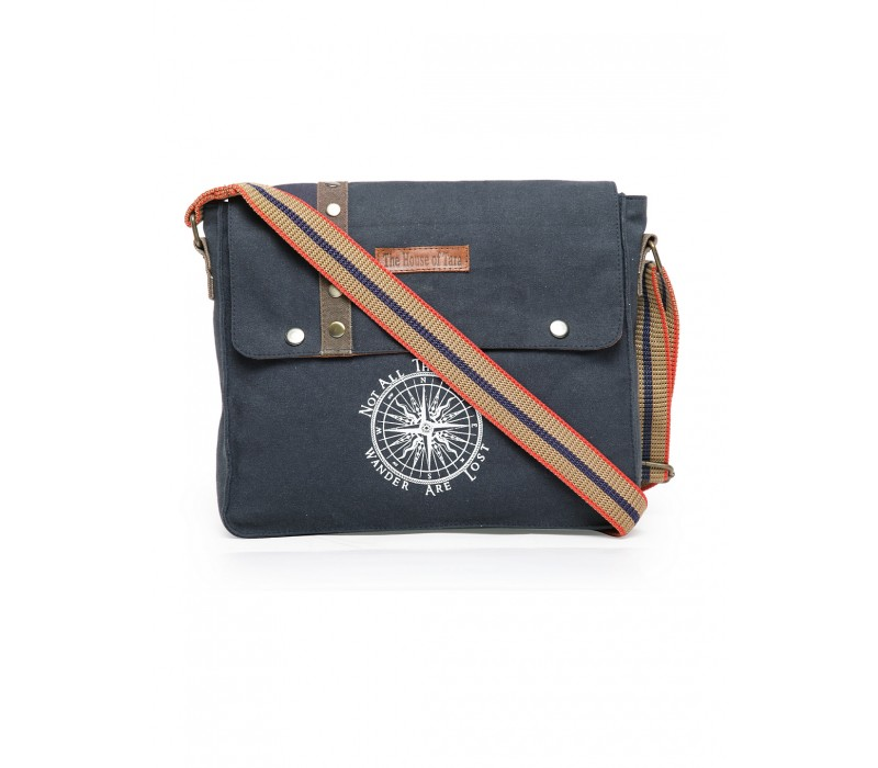 Unisex Messenger Bag (Combat Blue)