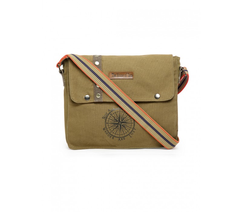 Unisex Messenger Bag (Khaki)