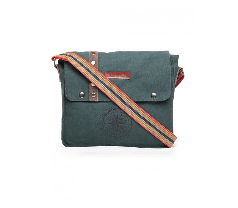 Unisex Messenger Bag (Moss Green)