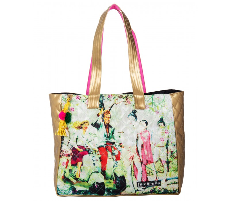 Women's Handbag (Multi Colour)