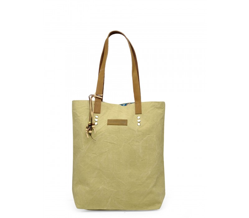 Canvas Shoulder Bag (Desert Storm)