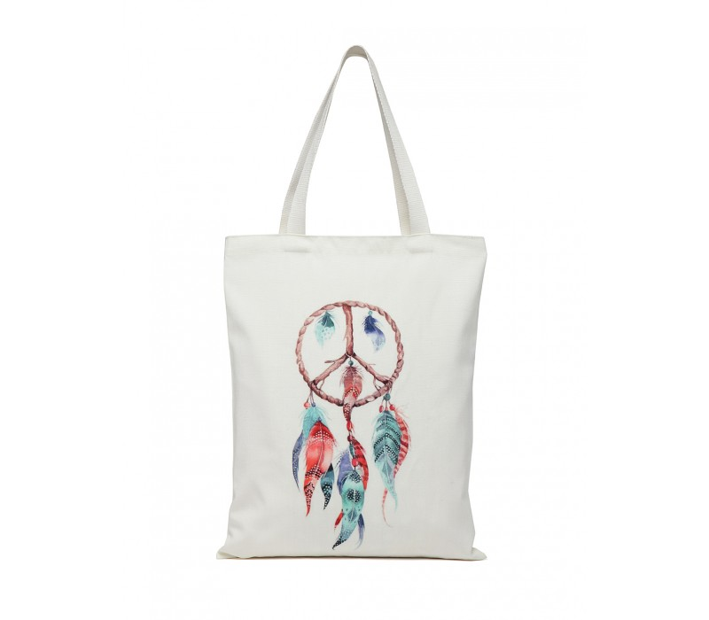Digital Print Tote White (HTT 378)