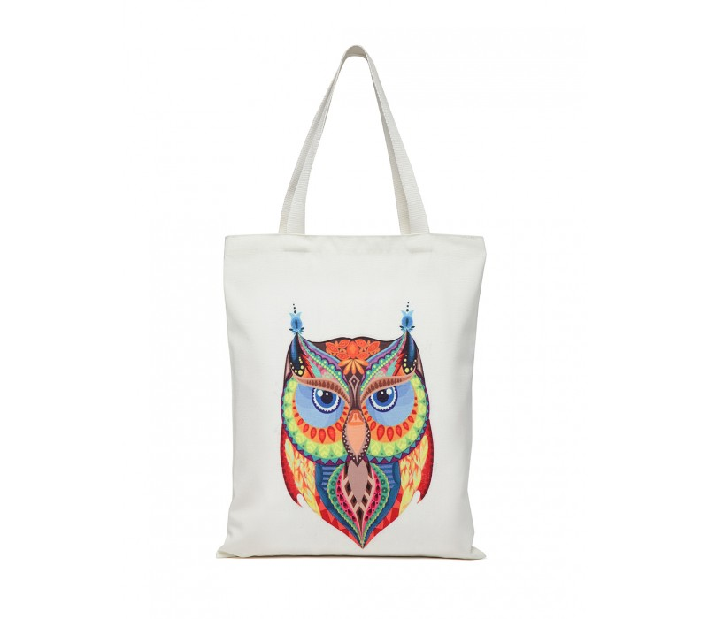 Digital Print Tote White (HTT 379)