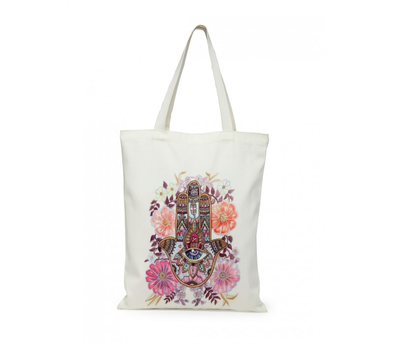 Digital Print Tote White (HTT 381)