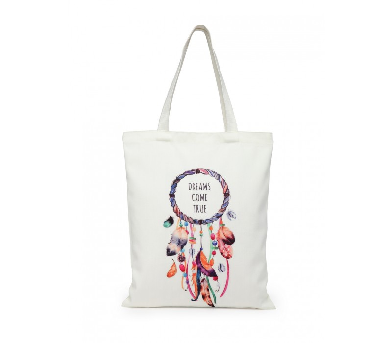 Digital Print Tote White (HTT 382)