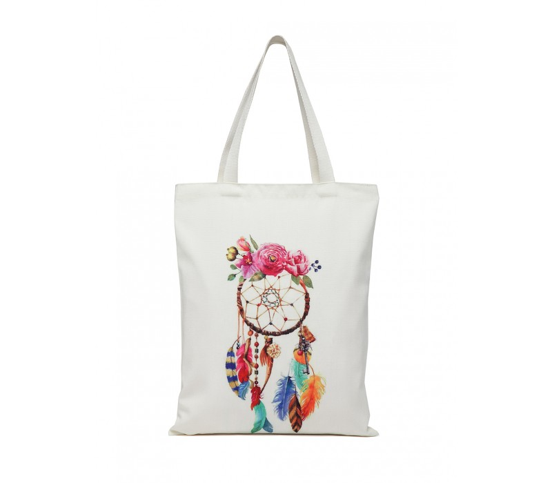 Digital Print Tote White (HTT 383)