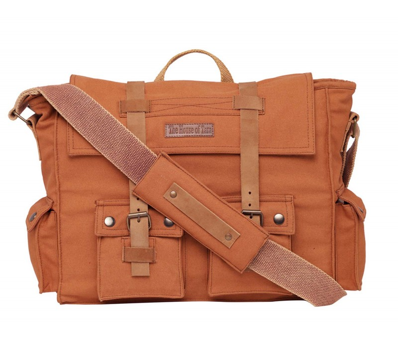 Canvas Messenger Bag (HTMB 114)