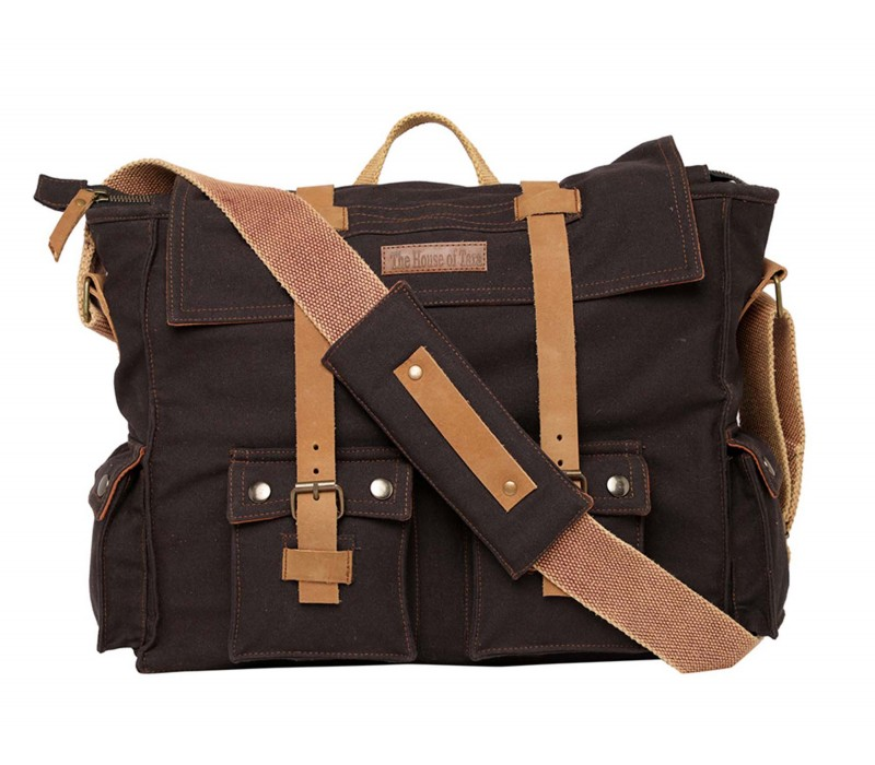 Canvas Messenger Bag (HTMB 115)