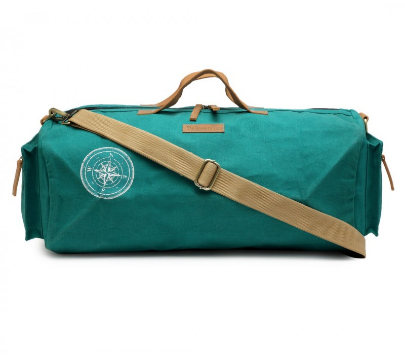 Canvas Duffle Gym Bag (Teal) HTD 140 e21ad362307be