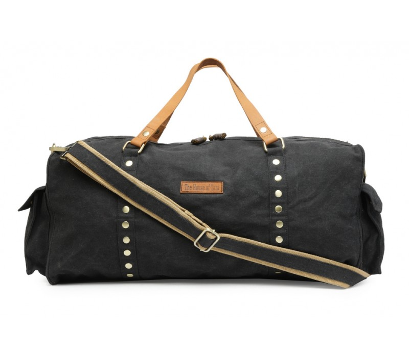 523f113adc6e Special Canvas Large Duffle Gym Bag (Raven Black) HTD 142